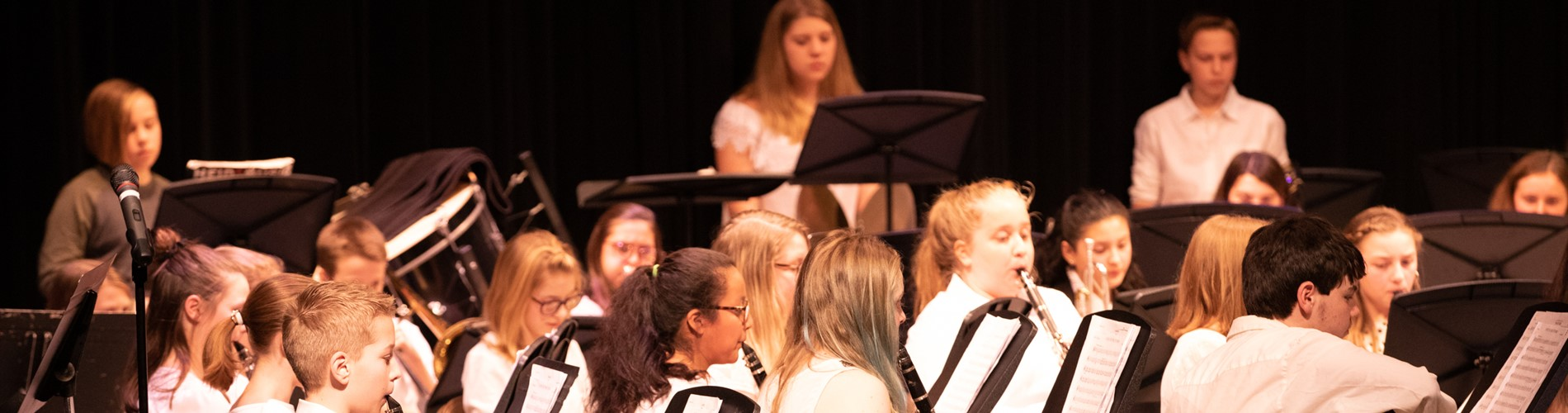 Band Winter Concert Performance